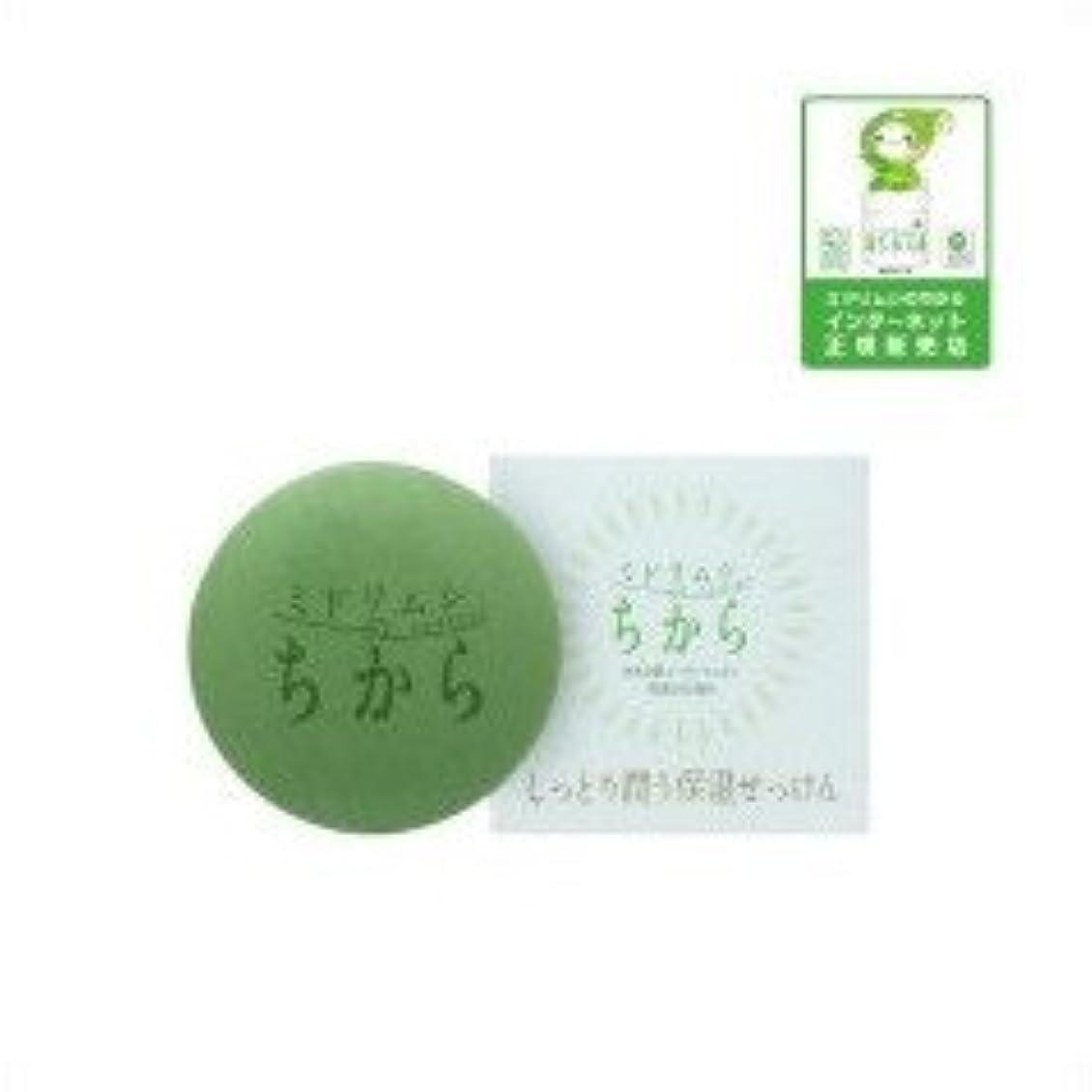連想プレミア消毒剤ユーグレナ ミドリムシのちから しっとり潤う保湿せっけん 100g