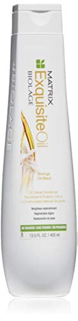 火傷知覚できる部分マトリックス Biolage ExquisiteOil Oil Creme Conditioner 400ml [海外直送品]