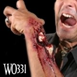 WoochieハロウィンBusted Open Fracture Gory Prosthetic