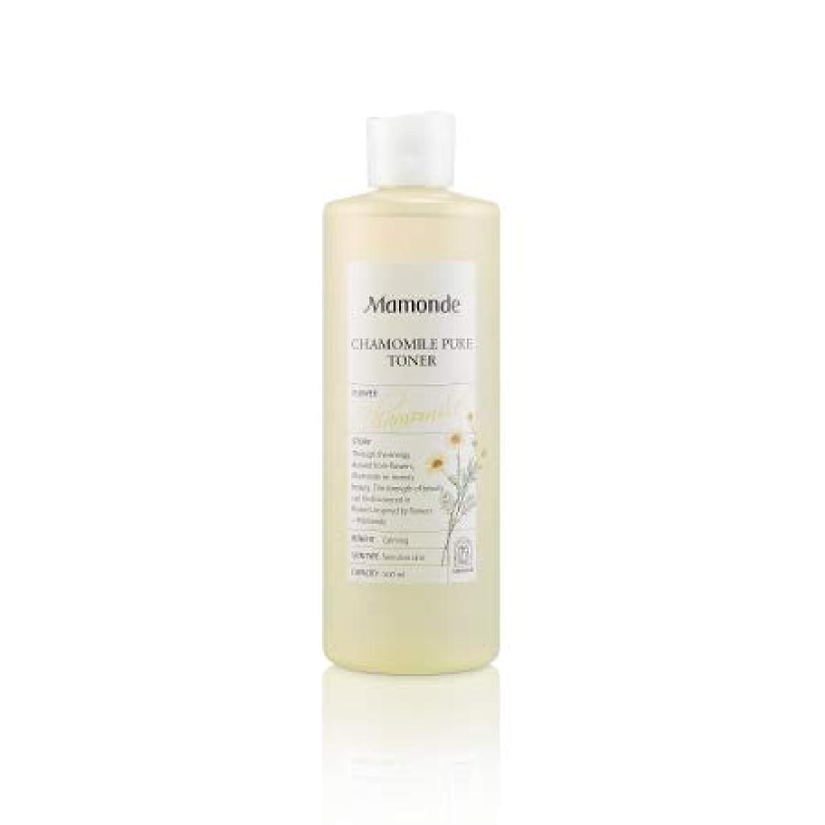 令状地下室とティーム【マモンド.mamonde]カモミールピュアトナー(500ml)/ chamomile pure toner