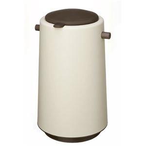 おむつ用ゴミ箱/おむつポット 【20L】 専用消臭剤付き 『プーポット』 ブラウン