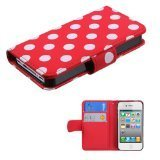 Best Mybat iPhone 4Sケース - MyBat Frosted BookStyle MyJacket Wallet with Card Slot Review