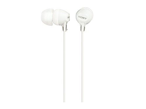 ソニー ヘッドホン MDR-EX15LP ホワイト MDR-EX15LP W 1個