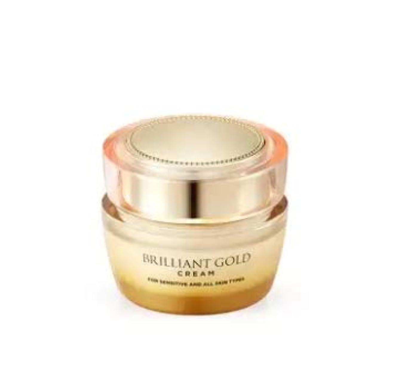 同情虫を数える支援するAHCブリリアントゴールドクリーム50mlブライトニング+リンクルケア韓国の人気ブランド人気水分クリーム皮膚の保湿水分補給洗顔後