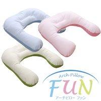 眠り製作所 アーチピローFUN ファン (U型抱き枕) レギュラー スウィートピンク