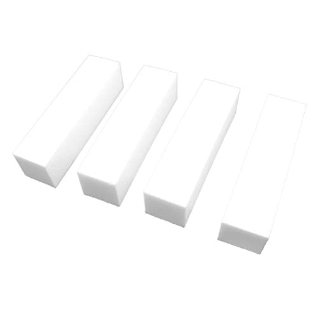まだスキップ誘惑Lurrose ネイルバッファーブロックホワイトサンディングブロックファイルネイルポリッシャーマニキュアツール