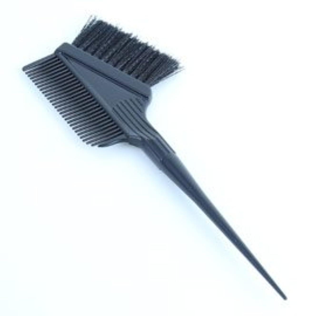 北米咽頭燃やすヘアカラー用ブラシ&コーム1本