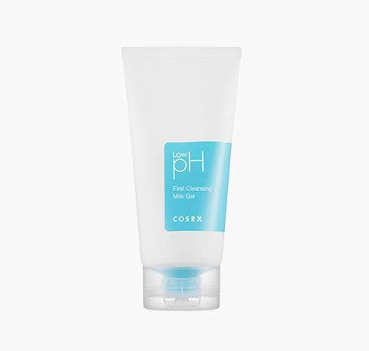銀鼻光の[COSRX] Low pH First Cleansing Milk Gel 150ml / Low pH ファースト クレンジング ミルク ジェル 150ml [並行輸入品]