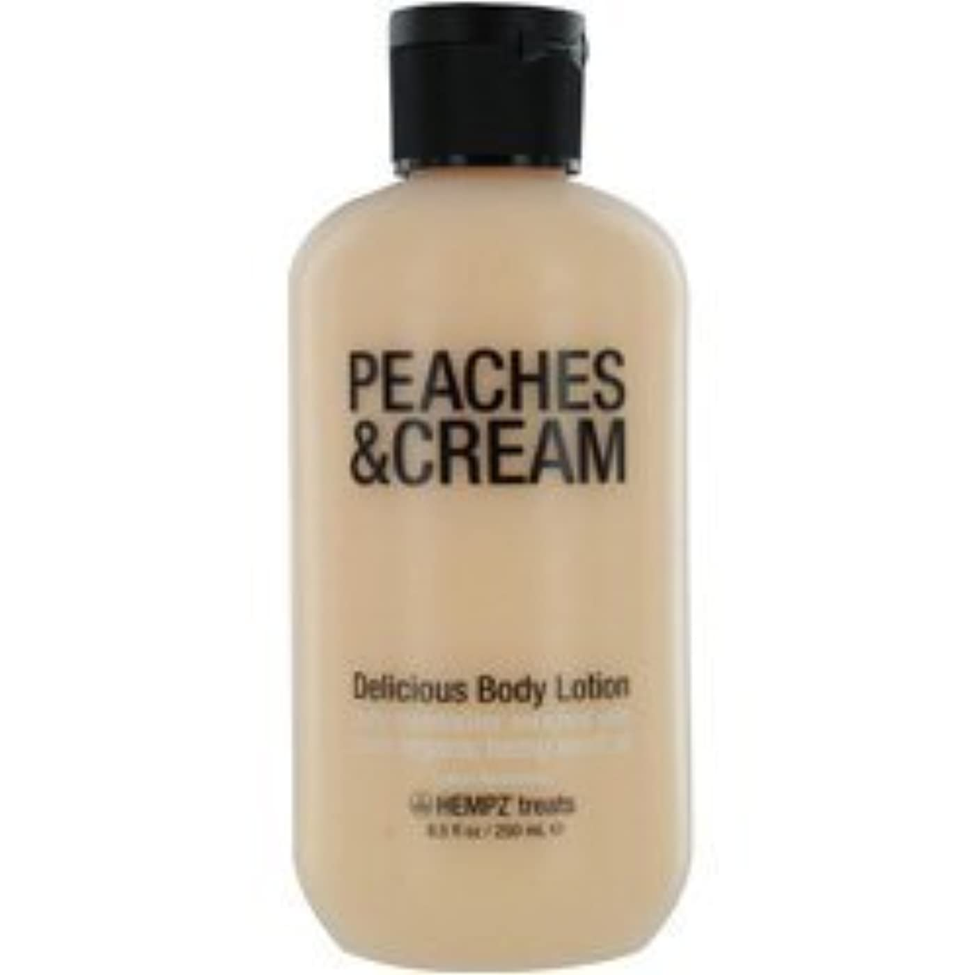 真面目なシャベル国HEMPZ HEMPZ TREATS DELICIOUS BODY LOTION (PEACHES & CREAM) 8.5 OZ UNISEX by jiras-bb