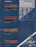 Nゲージ車両 415系近郊電車 (旧塗装) 増結 92210