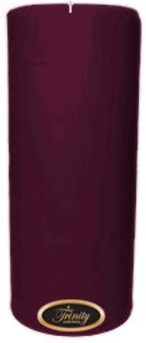 神秘的な退屈させる動かすTrinity Candle工場 – Wisteria – Pillar Candle – 4 x 9