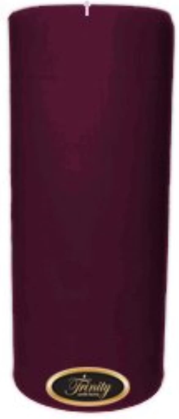 勉強するはぁ取り囲むTrinity Candle工場 – Wisteria – Pillar Candle – 4 x 9