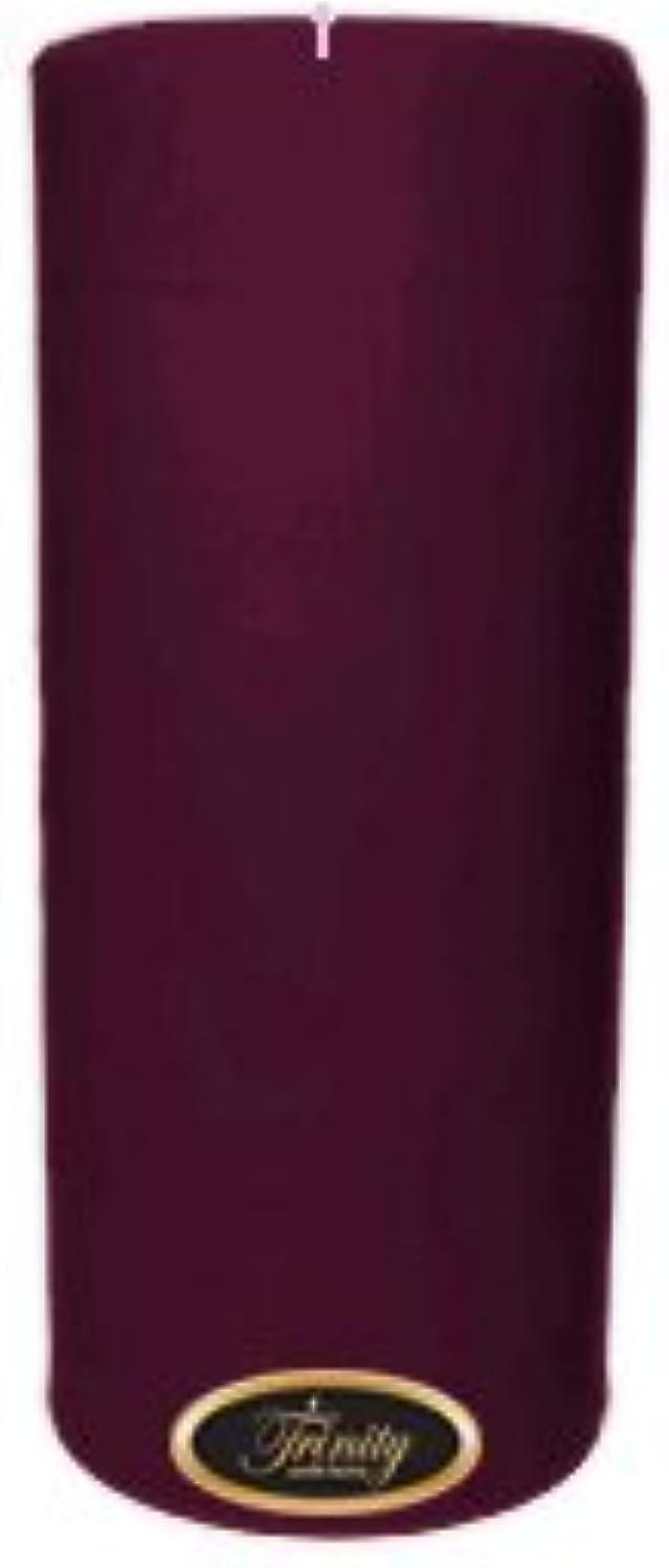 偽善祈り渦Trinity Candle工場 – Wisteria – Pillar Candle – 4 x 9