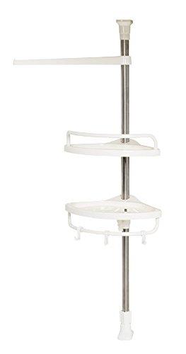 パール金属 キッチンツールスタンド ホワイト 幅26×奥行19.5×高さ63-105cm HB-3744