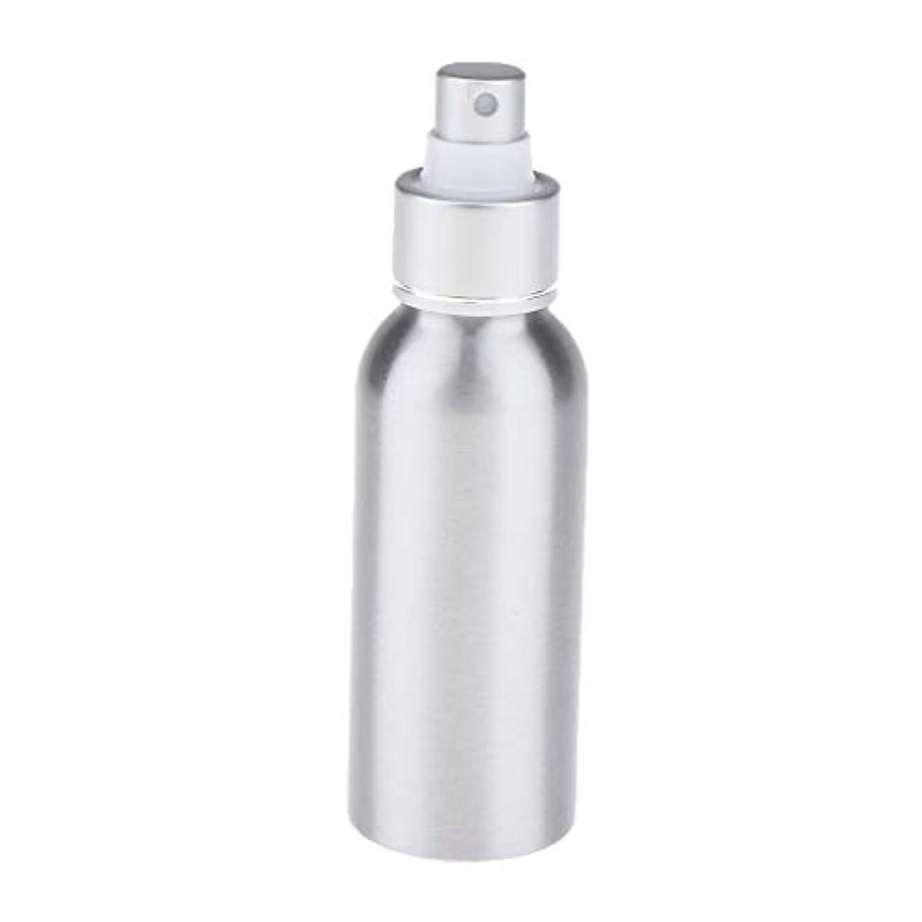 クロス直径首尾一貫したポンプボトル アトマイザー トラベルボトル スプレー 漏れ防止 遮光 霧吹き 旅行用 5サイズ選べ - 100ミリリットル