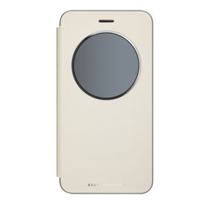 エイスース ASUS ZenFone 3 (ZE520KL)用 View Flip Cover(ゴールド) 90AC01D0-BCV005