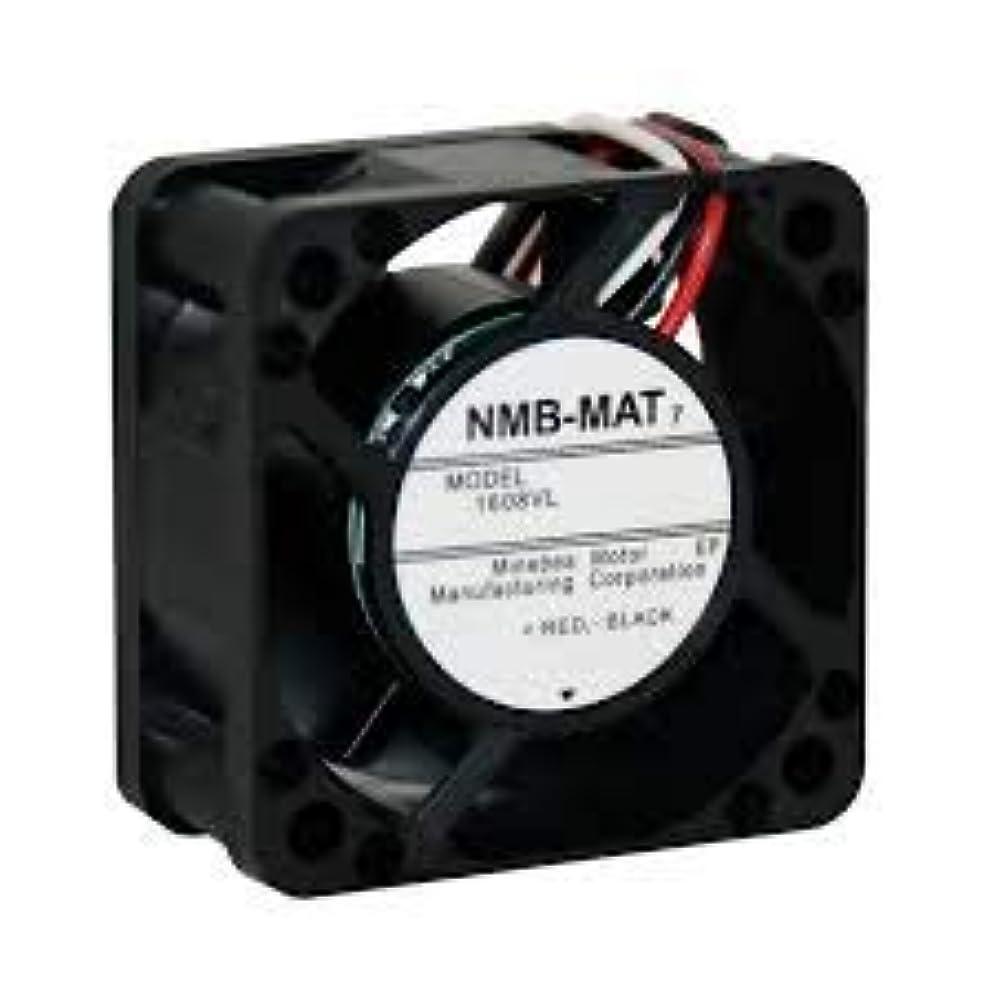 独占ステーキ絶望NMB TECHNOLOGIES 1608VL-05W-B69-B00 DCファン DC軸ファン 40x20mm 24VDC 11.3CFM リブロック ローター 3ワイヤー