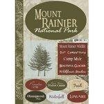 スクラップブックCustoms–United Statesコレクション–ワシントン–国立公園–カードストックステッカー–Mount Rainier