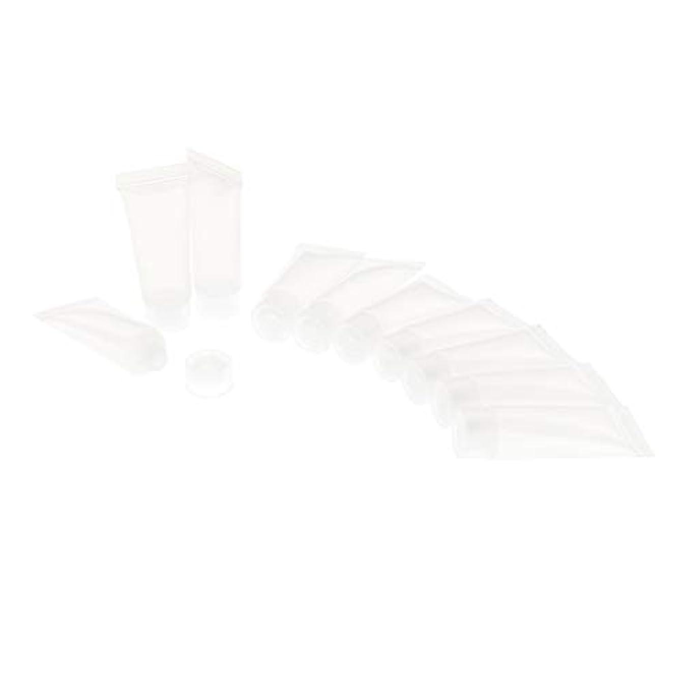 口頭喜劇王朝DYNWAVE ソフトチューブ スクイズボトル 化粧品 スクイズチューブ 詰め替えボトル 小分け容器 3色選べ - クリア