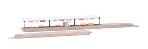 Nゲージストラクチャー 島式ホームセット 4021