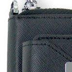 TeamS(チームエス) iQOS アイコス ケース カバー PU レザー ケース ヒートスティック 収納 合皮 電子たばこ ブラック