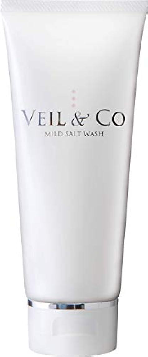 段階次シェル【VEIL&Co】ベールアンドコー 毛穴専用マイルドソルトウォッシュ(洗顔料) 150g