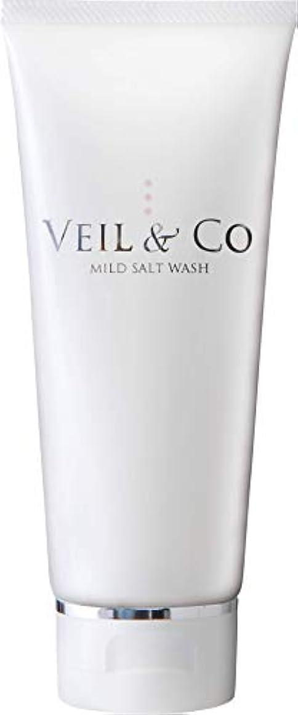 ソファー感謝祭輝度【VEIL&Co】ベールアンドコー 毛穴専用マイルドソルトウォッシュ(洗顔料) 150g