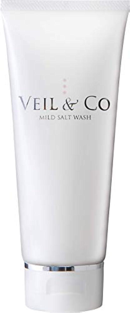 【VEIL&Co】ベールアンドコー 毛穴専用マイルドソルトウォッシュ(洗顔料) 150g