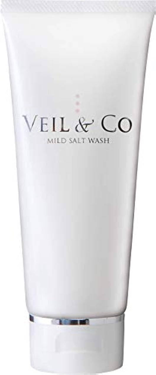 政治実験く【VEIL&Co】ベールアンドコー 毛穴専用マイルドソルトウォッシュ(洗顔料) 150g