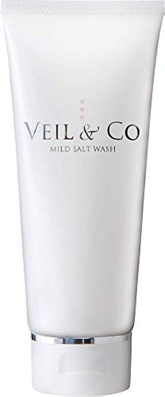 エイリアス縮約一【VEIL&Co】ベールアンドコー 毛穴専用マイルドソルトウォッシュ(洗顔料) 150g