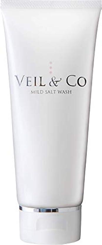 運動する各方程式【VEIL&Co】ベールアンドコー 毛穴専用マイルドソルトウォッシュ(洗顔料) 150g