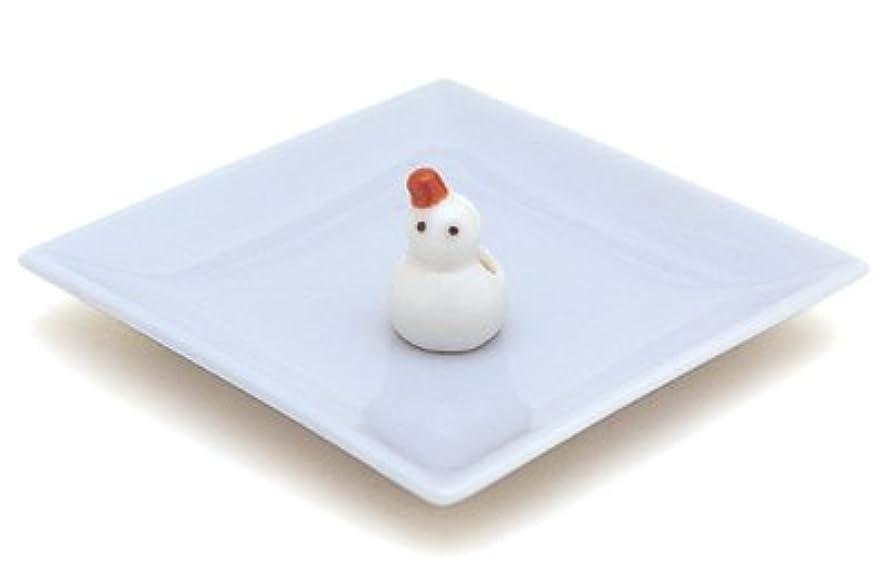 用量タヒチ国歌陶器香皿&雪ダルマ香立