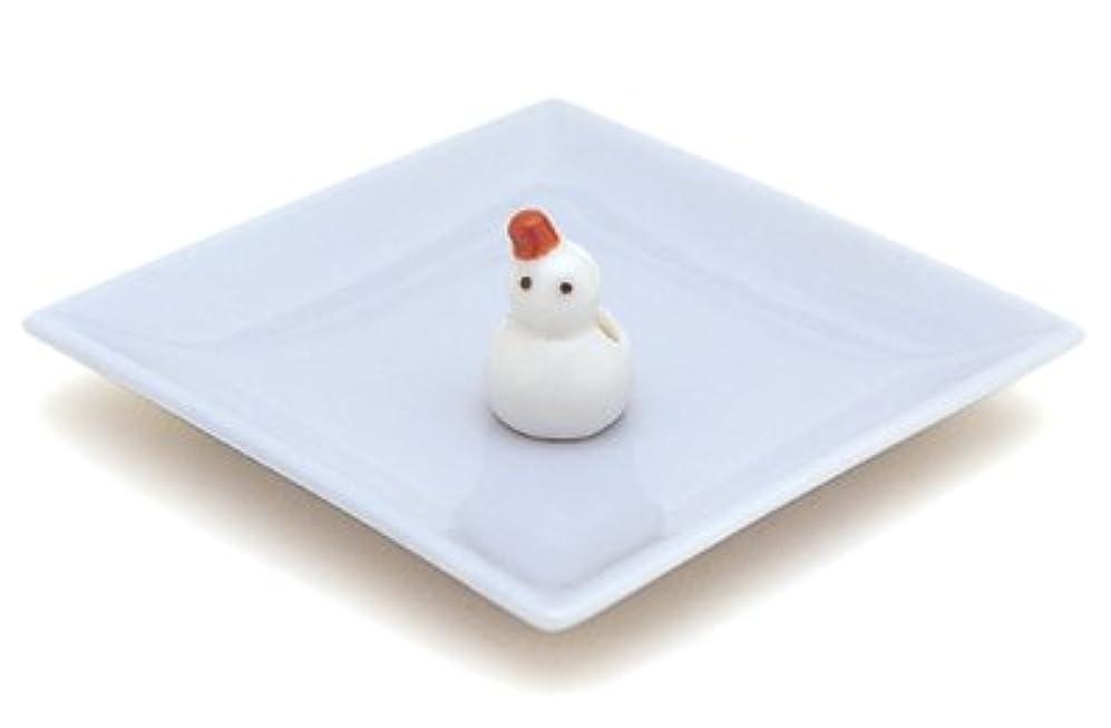 組み合わせるカウントビジター陶器香皿&雪ダルマ香立