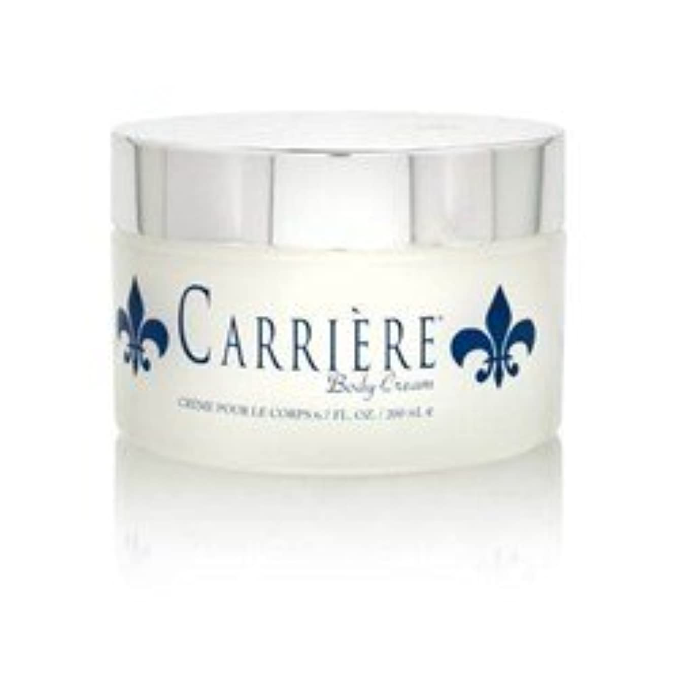 トラフィック水素ファンネルウェブスパイダーCarriere (キャリアー)  6.7 oz (200ml) Perfumed Body Cream (ボディークリーム) by Gendarme for Women