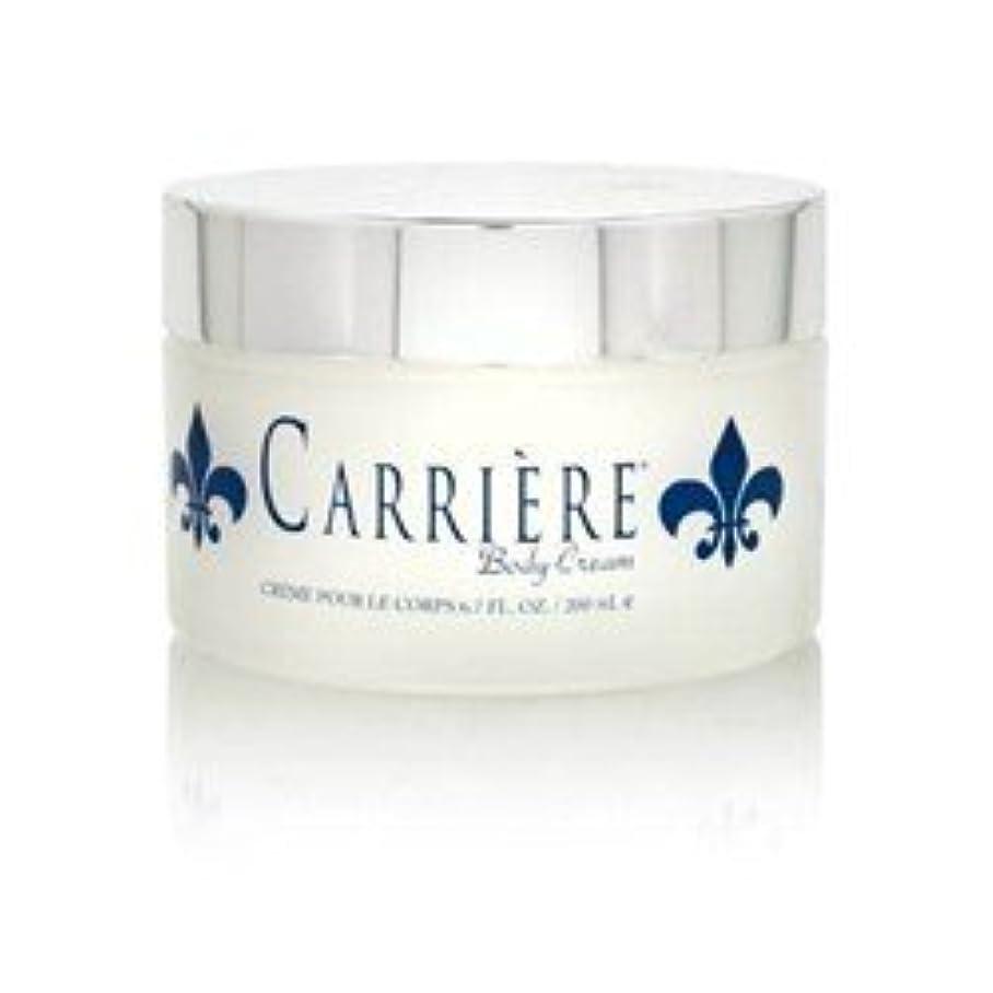スクラブマーケティング満了Carriere (キャリアー)  6.7 oz (200ml) Perfumed Body Cream (ボディークリーム) by Gendarme for Women