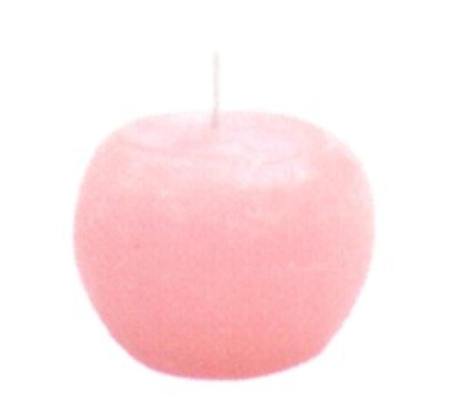 分離一生葉を拾うロイヤルボールキャンドル ピンク