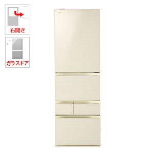 東芝 【右開き】465L 5ドアノンフロン冷蔵庫 VEGETA ラピスアイボリー GRR470GWZC