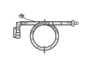 SHARP/シャープ 洗濯機用 延長用ふろ水ホース(ホースとコードの一体型2m) [2103600535] (2103600535)
