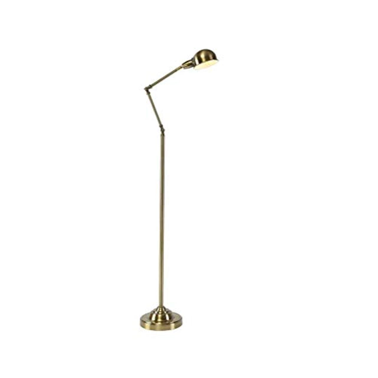 クラウン揺れる覚醒Nordicシンプルなフロアランプベッドルームベッドサイドソファヨーロッパの鉄の垂直ランプ W04/30