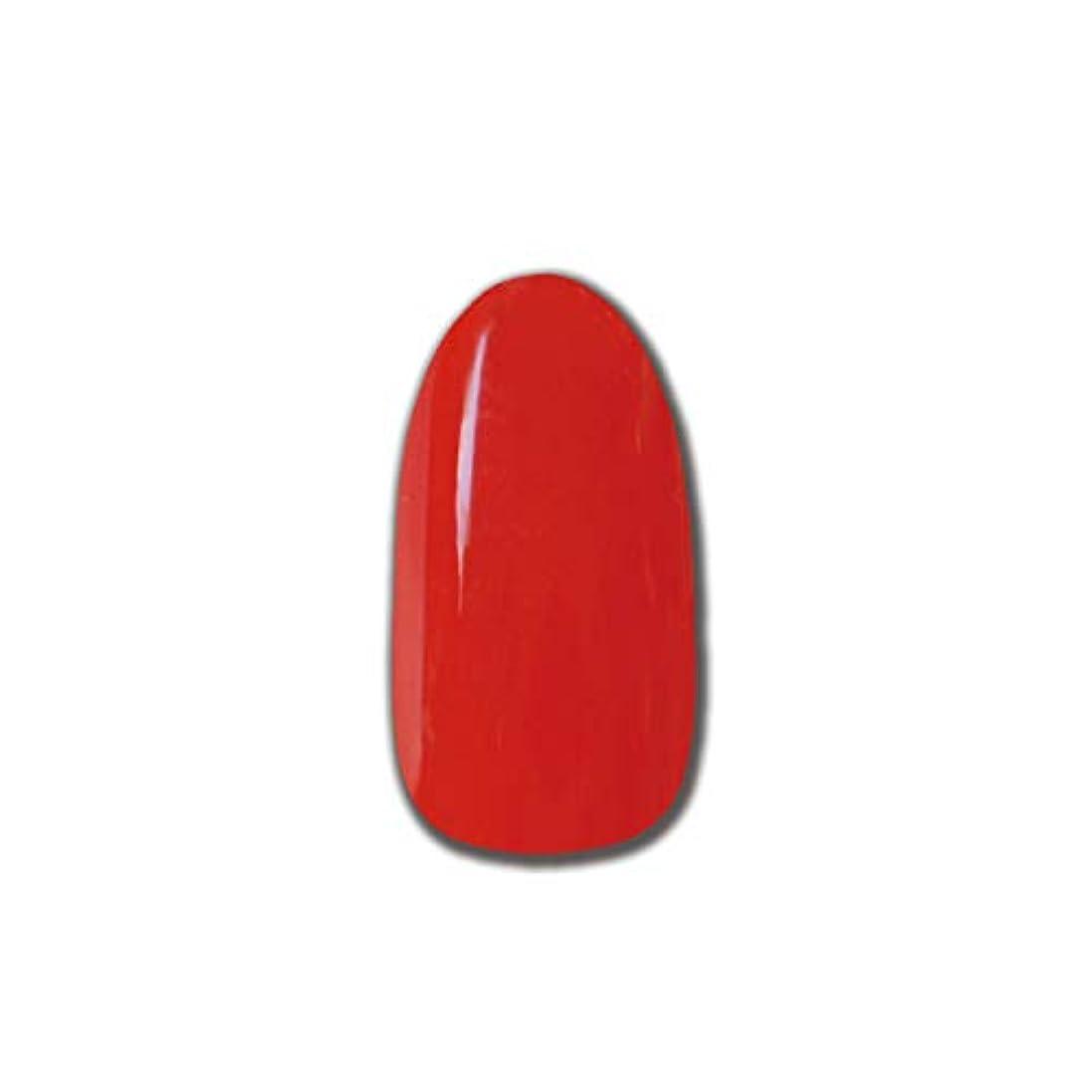 柔らかい足画面パウダーT-GEL COLLECTION カラージェル D193 ミディアムレッド 4ml