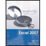 Cover of Exploring Microsoft Office Excel 2007 + Exploring Microsoft Excel 2007 Student Cd: 1