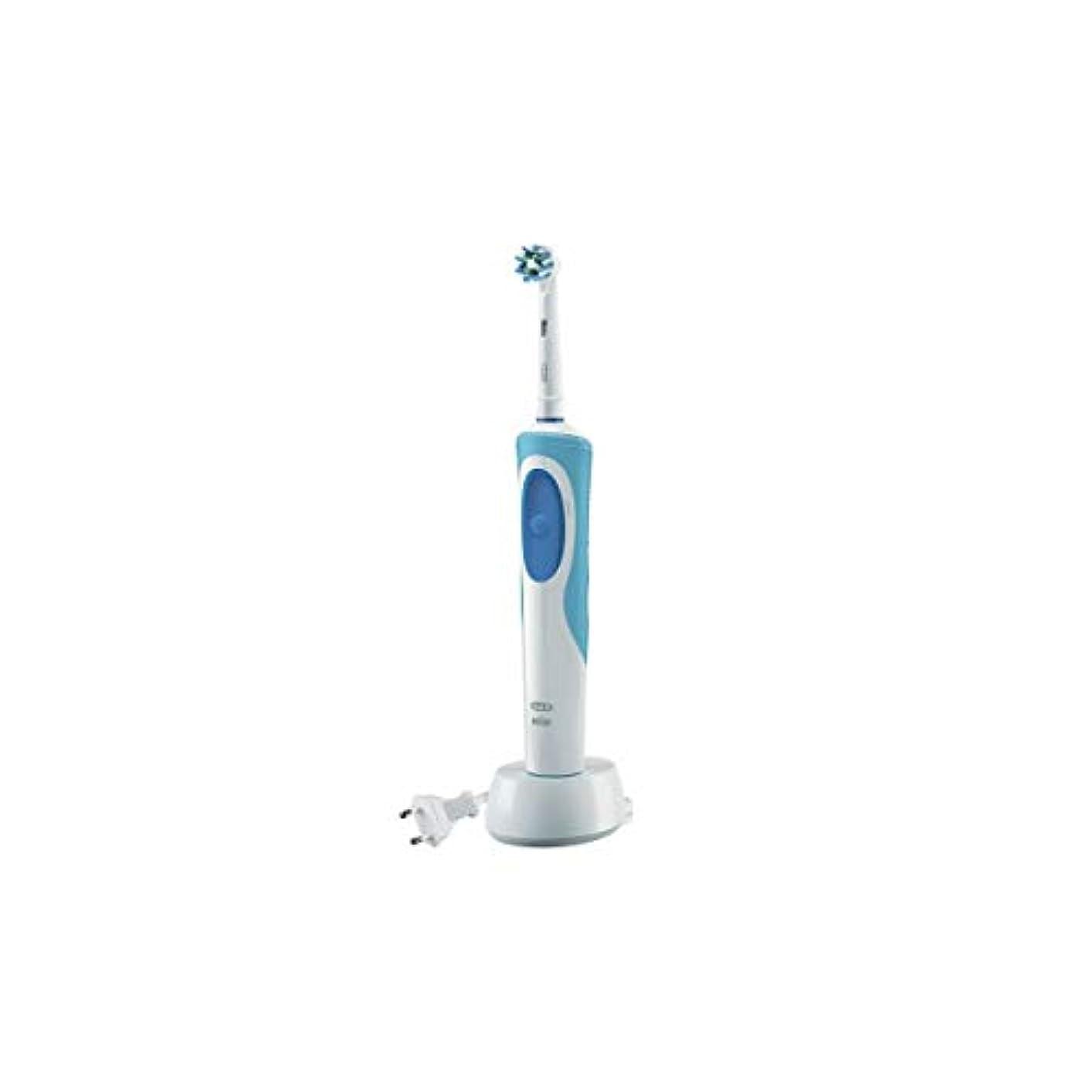 たっぷり使役抜本的なOral B Vitality Cross Action Electric Toothbrush [並行輸入品]
