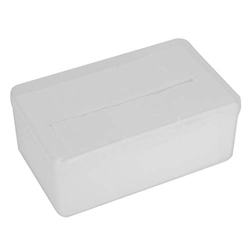 ゴミ箱を空にするコメント暖炉1000個/セット使い捨て化粧品コットンパッドメイク落としソフトクリーニングクロススキンケア