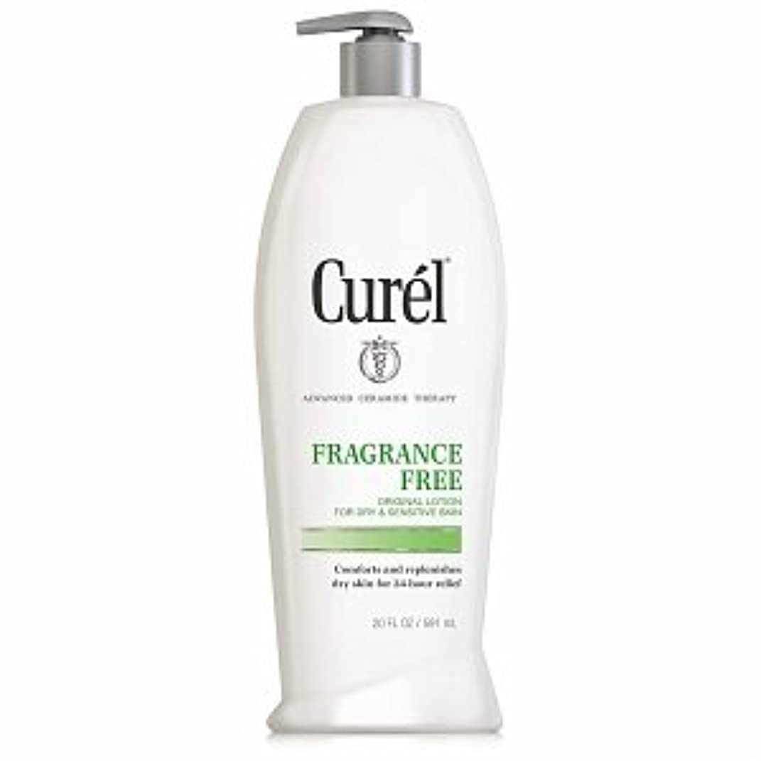 大臣あらゆる種類のサークルCurel Fragrance Free Original Lotion For Dry&Sensitive Skin - 13 fl oz ポンプ式
