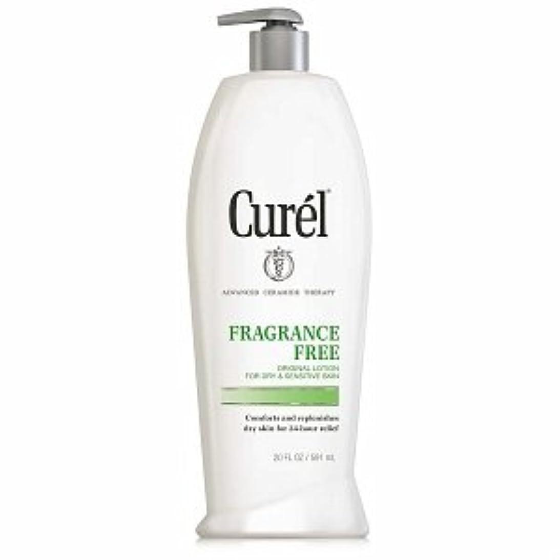 把握広く透過性Curel Fragrance Free Original Lotion For Dry&Sensitive Skin - 13 fl oz ポンプ式