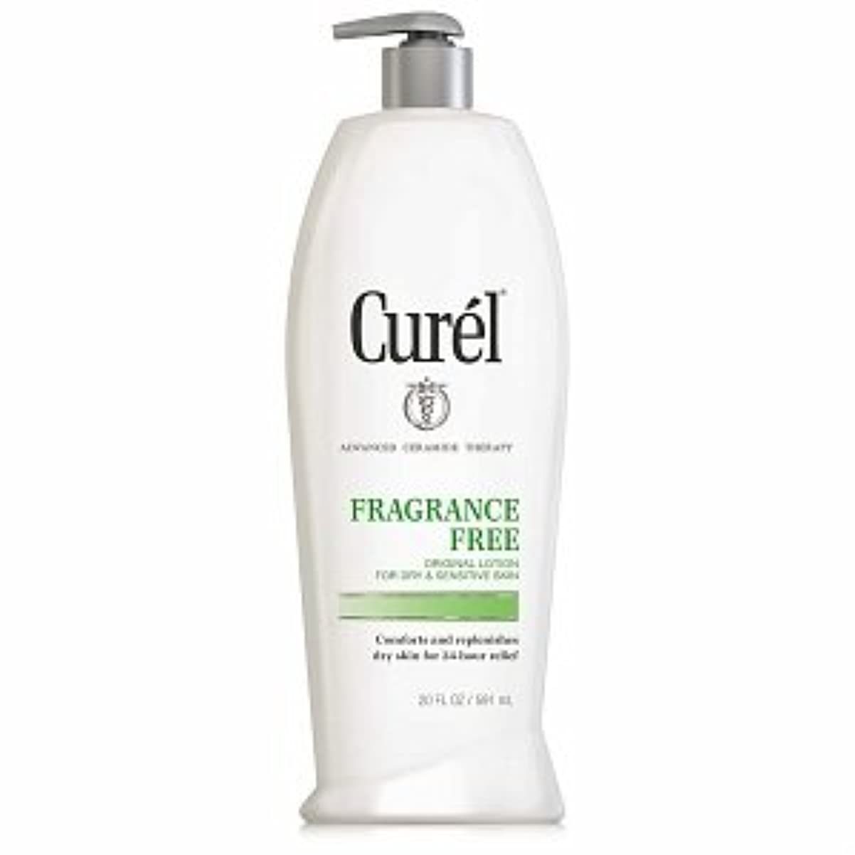 の頭の上レンダリング時間Curel Fragrance Free Original Lotion For Dry&Sensitive Skin - 13 fl oz ポンプ式