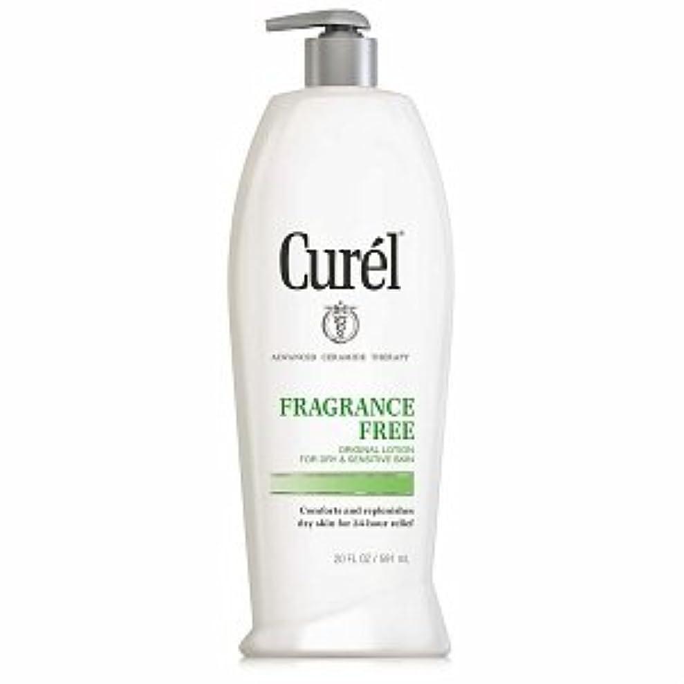 爵長椅子前件Curel Fragrance Free Original Lotion For Dry&Sensitive Skin - 13 fl oz ポンプ式