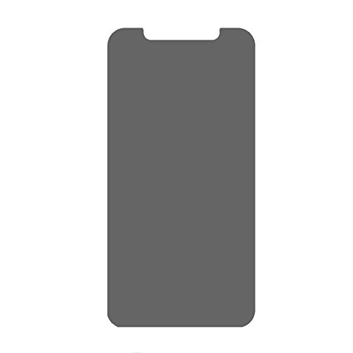 iPhone X ガラスフィルム覗き見防止 左右180° のぞき見防止防犯フィルム 3dタッチ対応 ...