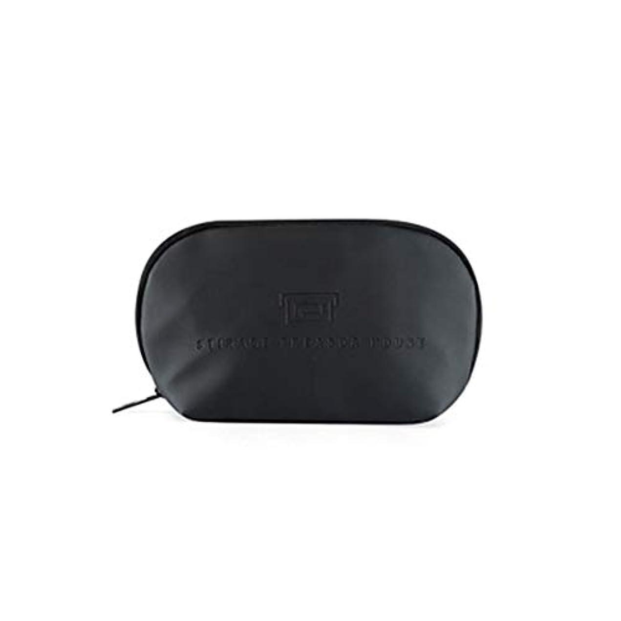 従事した克服するお誕生日トラベルトイレタリーバッグ(男性と女性用)化粧バッグ化粧バッグ浴室とシャワーオーガナイザーキット漏れ防止,Black,XL