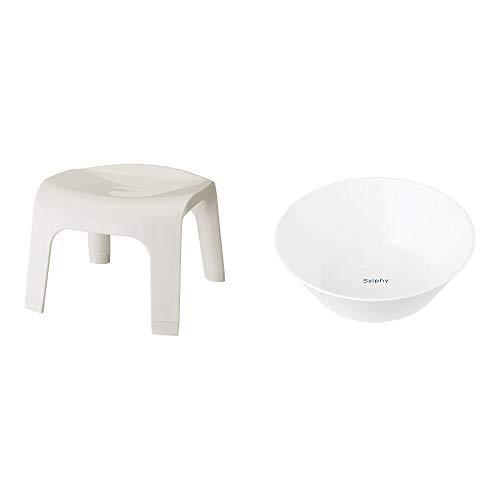 レック シルフィ 風呂いす25 ホワイト(1コ入)